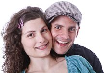 Free Happy Family, Parents Waiting For A Baby Stock Photography - 18203162