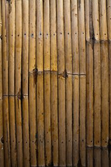Bamboo Striped Pattern Royalty Free Stock Photos