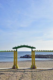 Sea Gate Stock Photos