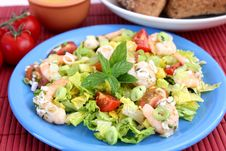 Free Fresh Salad Stock Photography - 18204162