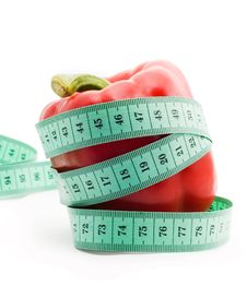Free Bulgarian Pepper And Centimeter Royalty Free Stock Images - 18204209