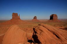 Free Monument Valley Stock Images - 18204334