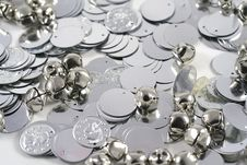 Free Bells And Coins Stock Images - 18204504