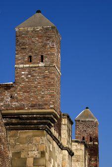 Turret Opposite Blue Sky Royalty Free Stock Image
