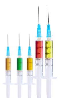 Free Medical Syringe Stock Image - 18205171