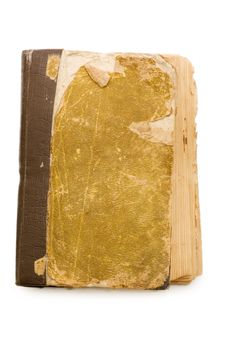 Free The Ancient Book Isolated On White Background Royalty Free Stock Image - 18205406