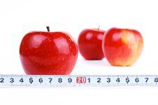 Free Red Fresh Apple Royalty Free Stock Photo - 18205435