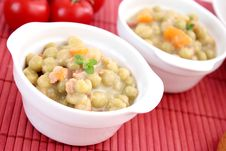 Free Stew Of Peas Stock Photography - 18205482