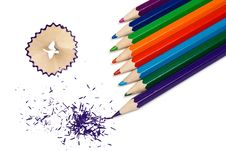 Free Color Pencils Stock Photos - 18205713