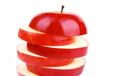 Free Red Fresh Apple Royalty Free Stock Images - 18205799