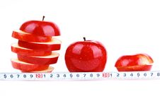 Free Red Fresh Apple Stock Photos - 18205983