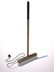 Free Electric Broom Royalty Free Stock Image - 18206946