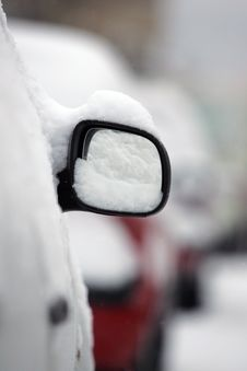 Free Car In The Snow Stock Photo - 18207030