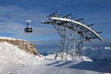 Free Cable-car In Alps Stock Photos - 18208583
