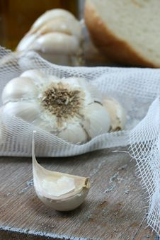 Free Focus On Garlic Clove Stock Images - 18209254