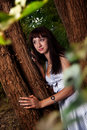 Free Girl In Trees Royalty Free Stock Photography - 18216917