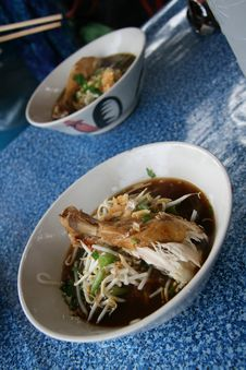 Free Thai Soup With Chiken Stock Photos - 18211163