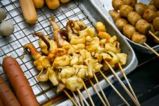 Free Octopus On Grill Stock Image - 18211591