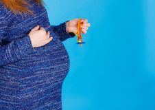 Free Close-up Of Pregnant Woman Stock Images - 18212374