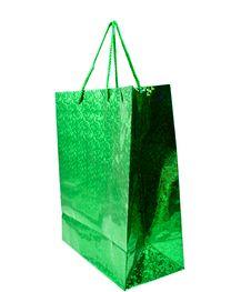 Green Bag Stock Photography