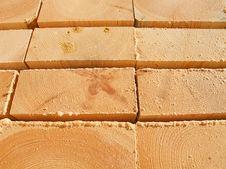 Free Fresh Wooden Studs Stock Photos - 18212793