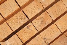 Free Fresh Wooden Studs Royalty Free Stock Photo - 18212855