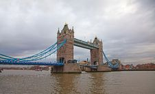 Free Tower Bridge Stock Image - 18213261