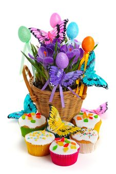 Free Easter Arrangement Royalty Free Stock Photos - 18213288