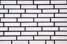Free White Clinker Wall Royalty Free Stock Photo - 18213875