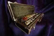 Free Side Flute Velvet Stock Images - 18214134