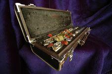 Free Side Flute Velvet Royalty Free Stock Photos - 18214138