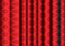 Red Silk Fabric Royalty Free Stock Photo