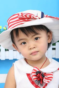 Free Beautiful Chinese Girl Royalty Free Stock Image - 18214876