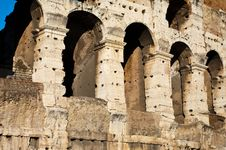 Free Colosseum Detail Royalty Free Stock Photo - 18214915