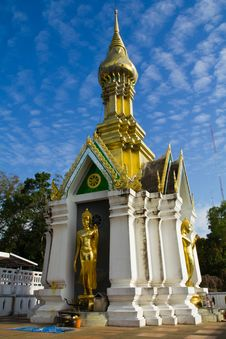 ฺBuddhist Pagoda And Statue Stock Images