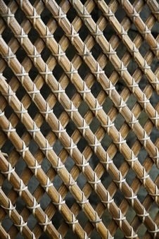 Free Bamboo Grid Stock Images - 18215384