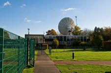 Free The Lovell Telescope Royalty Free Stock Photography - 18215397