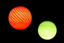 Free Red And Green Sphere Stock Image - 18215731
