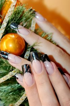 Free Beautiful Hands And Nails Stock Photos - 18216343