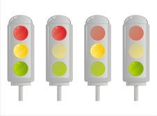 Free Traffic Lights Royalty Free Stock Photos - 18216468