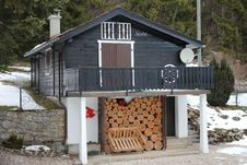 Free Chalet And Wood Stock Photography - 18217762
