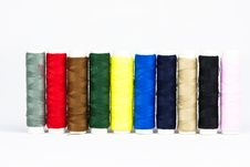 Free Multicolor  Of Sewing Threads Stock Images - 18218104
