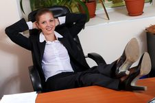 Free Businesswoman Stock Photography - 18218282