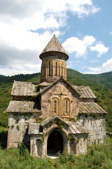 Free Pitareti Monastery In Georgia Royalty Free Stock Images - 18218699