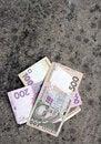 Free 100, 200, 500 Ukrainian Hryvnia Stock Photography - 18220132