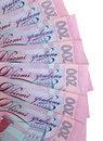 Free 200 Ukrainian Hryvnia Royalty Free Stock Photography - 18221297
