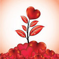 Free Flower With Heart Stock Image - 18221441