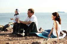 Free Happy Family Picnic Stock Photos - 18220213