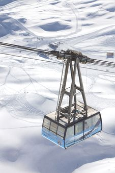 Free Cable-car In Alps Stock Photos - 18220323