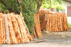 Free Woodpile, Raw Material Royalty Free Stock Photo - 18220375